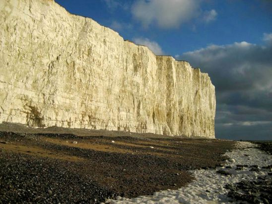 Beachy Head Cliffs seen from sea level