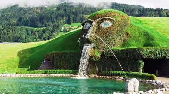 Swarovski Fountain, Austria