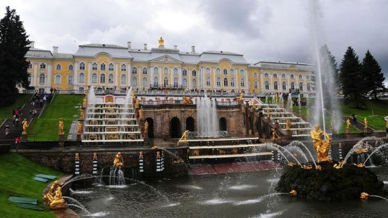 The Grand Cascade, Russia