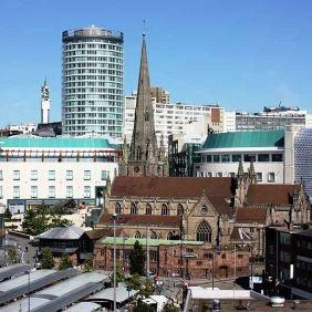 Birmingham, 713,000 visitors in 2012