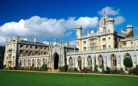 Cambridge, 398,000 visitors in 2012
