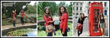Nadina i Hana u Londonu