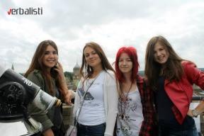 Polaznice jezicke mreze Verbalisti u Oksfordu, 2013