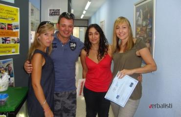 Profesori i polaznici, Ibiza 2013, Verbalisti