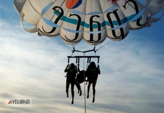 Sanja i Despina, Sea Paragliding, Ibiza 2013
