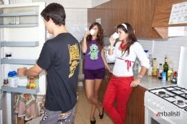 Verbalisti u jednom od stanova, smestaj na Ibici