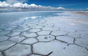 Dry season in the Salar De Uyuni, Bolivia