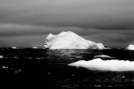 The best photography, The Face of an Iceberg