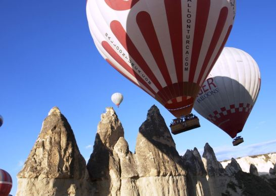 Hot air balloning, Cappadocia