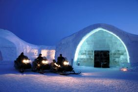 Icehotel in Sweden, 2