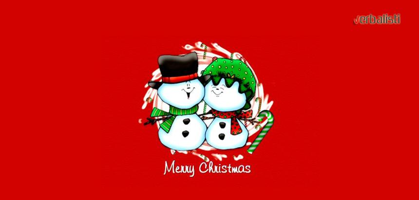 Merry Christmas, Verbalisti