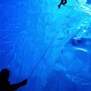 The Mendenhall Ice Caves, Alaska