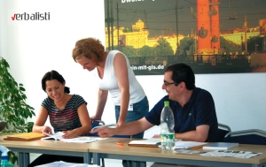 German language business courses in Berlin, GLS college, Verbalists