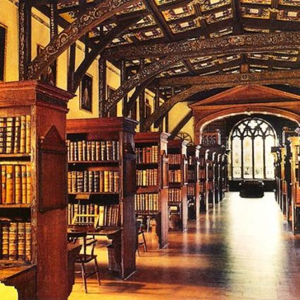 Oxford's Duke Humphrey's Library
