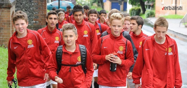 Soccer camps and language schools, Manchester United and Verbalisti