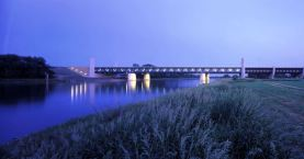 The longest navigable aqueduct in the world