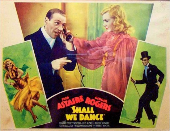 English dialects, Fred Astaire and Ginger Rogers