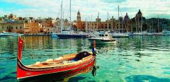 Language study and summer vacation in Malta