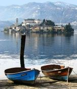 Lake Orta, Piemonte in Italy