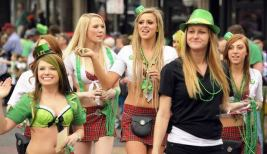 St. Patrick's Day Parade in Birmingham