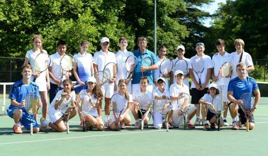 Tennis camp Nike and language network Verbalisti