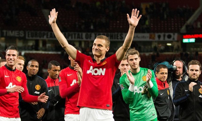 Nemanja Vidic farewell, Manchester United