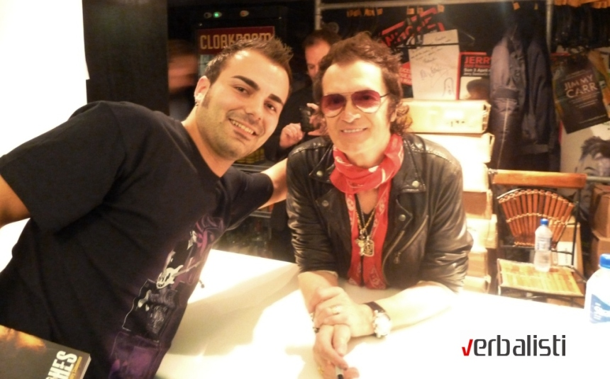 Ivan Radenov with Glenn Hughes, Deep Purple