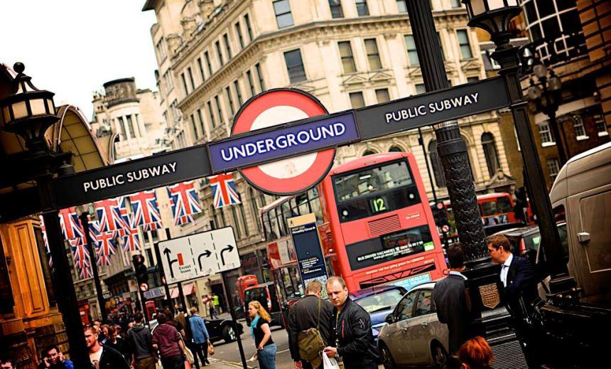 Public subway in London
