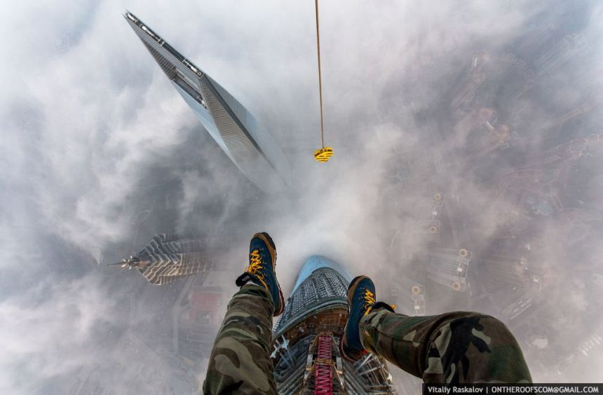 Skywalking - the new trend in Russia