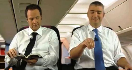 Englishmen traveling to Italy