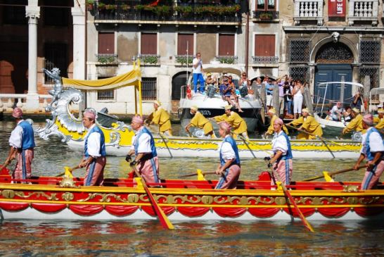 The Venetian regatta has always consisted of various races with different kinds of boat