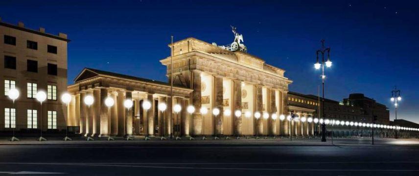 Berlin, border of lights, Brandenburg Gate
