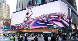 New York City Times Square digital billboard