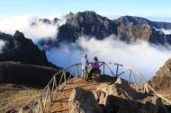 Pico Do Areeiro Peak Madeira Portugal
