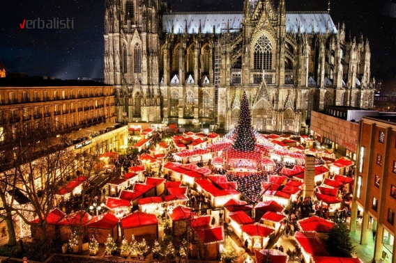 Christmas market, Cologne