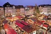 Christmas market in Jena, Germany