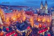 Christmas market in Prague