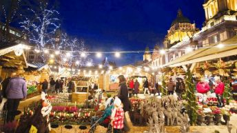 Christmas market in Zurich