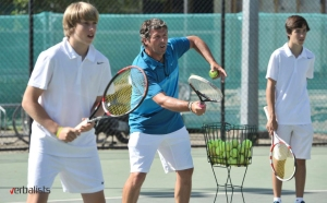 English and tennis camp with Nike, highly experienced coaching staff