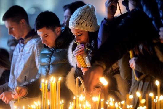 Christmas in Serbia, Photo: Nemanja Jovanovic, Tanjug