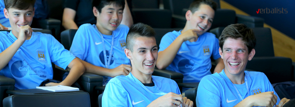 Manchester City Football Academy is aimed at boys and girls aged 9-17