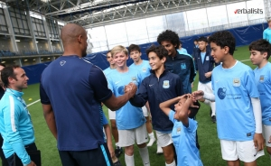 Meeting Vincent Kompany