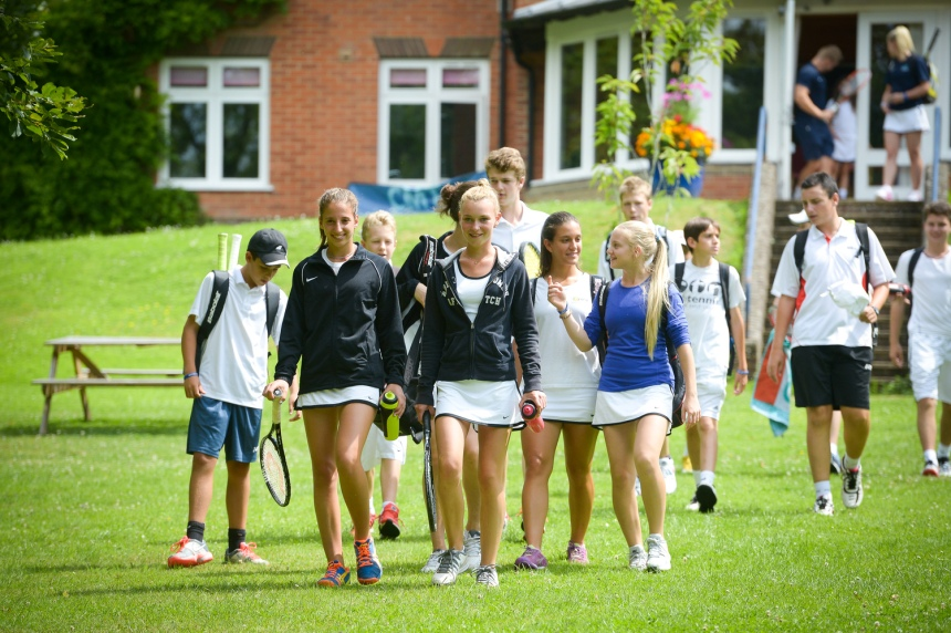 Nike tennis summer camps at Bradfield College, Verbalists