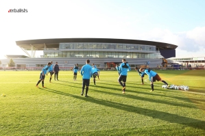 Manchester City Football Academy Training