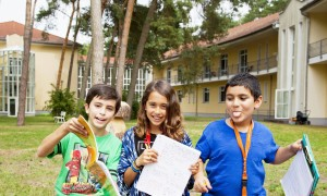 This camp is perfect for young students (ages 7 to 14) - safe, close to a lake, but with opportunities to explore Berlin, about 45 minutes from the camp