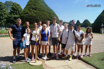 Excursions of the tennis camp Nike, Hampton Court