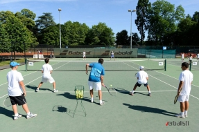 Highly experienced coaching staff, Nike tennis camp in the UK