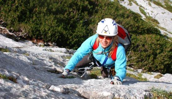 Deutsch lernen mit Videos, Freeclimbing