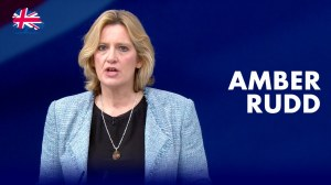 British Home Secretary Amber Rudd